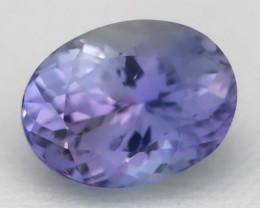 Tanzanite 4.41Ct VVS Oval Cut Natural Vivid Blue Tanzanite C1610