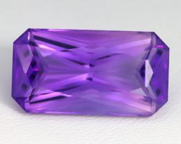 Amethyst 12.81Ct VVS Octagon Cut Natural Uruguay Violet Amethyst C1616