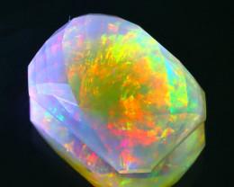 ContraLuz Opal 4.20Ct Natural Flash Color Fire ContraLuz Opal B1525