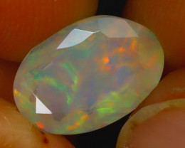 Welo Opal 2.15Ct Natural Ethiopian Play of Color Opal D1817/A44