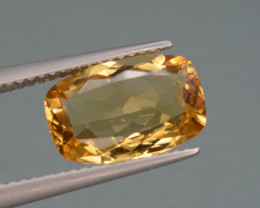 Natural Citrine  3.49   Cts, Top Quality Gemstone