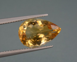 Natural Citrine  5.57   Cts, Top Quality Gemstone