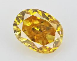 0.05 cts Fancy shape Diamond ,  Fancy Color Diamond
