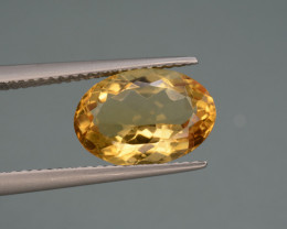 Natural Citrine  3.68  Cts, Top Quality Gemstone