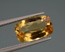 Natural Citrine  3.82 Cts, Top Quality Gemstone