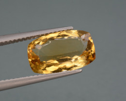 Natural Citrine  3.86  Cts, Top Quality Gemstone