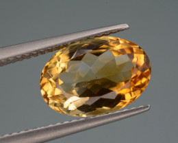 Natural Citrine  3.92  Cts, Top Quality Gemstone