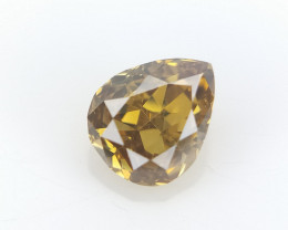 0.07 cts Fancy shape Diamond ,  Fancy Color Diamond