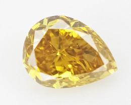 0.09 cts Fancy shape Diamond ,  Fancy Color Diamond