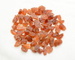 250 CT Orange Rough Hessonite Garnet Crystals @Pakistan