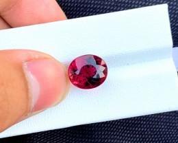 7.90 Carats Oval Cut Rubelite Tourmaline Loose gems