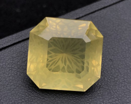 Flower Cut Big Size 19.60 ct Attractive Citrine Ring Size