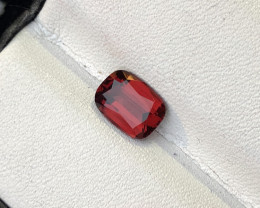 Loupe Clean 2.550 cts Fancy Cut umbalite Garnet Natural Dark Color Ring Siz