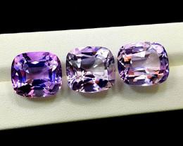 Amethyst, 55.20 Cts Natural Top Color & Cut Amethyst Gemstones