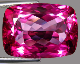 17.80Ct Genuine Amazing Natural Pink Topaz 18X13mm Cushion Shape Loose Gem