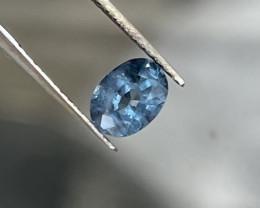 0.95 ct Luc Yen cobalt spinel.