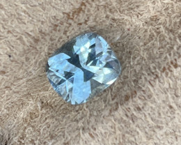 1.80 ct Aquamarine, nice tone on a well cut aquamarine gem.