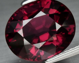 IF Clean! 5.61 ct Natural Earth Mined Top Quality Purplish Pink Rhodolite G