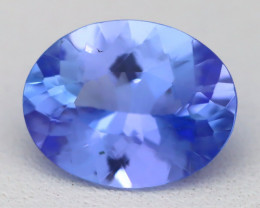 Tanzanite 2.16Ct VVS Oval Cut Natural Vivid Blue Tanzanite A1712