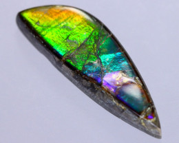 24x7mm,  5.38cts Natural Canadian Ammolite Stone / MA1696
