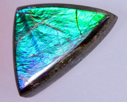 14x9mm,  4.30cts Natural Canadian Ammolite Stone / MA1700