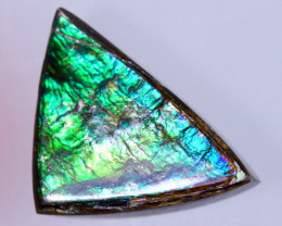 16x11mm,  7.11cts Natural Canadian Ammolite Stone / MA1706