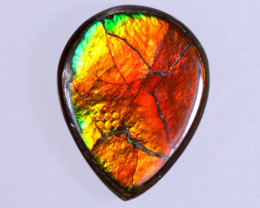 11x9mm,  2.85cts Natural Canadian Ammolite Stone / MA1710