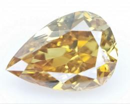 0.11 cts Fancy shape Diamond ,  Fancy Color Diamond