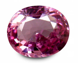 Burmese Spinel 1.801 Cts Pink Portuguese cut BGC418
