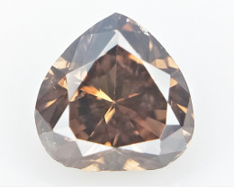 0.09 cts Fancy shape Diamond ,  Fancy Color Diamond