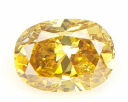 0.12 cts Fancy shape Diamond ,  Fancy Color Diamond