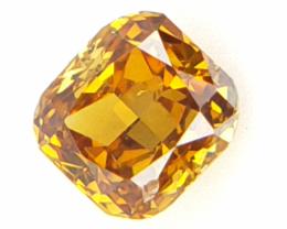 0.07 cts Fancy shape Diamond ,  Fancy Color Diamond