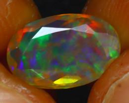 Welo Opal 1.18Ct Natural Ethiopian Play of Color Opal E1918/A44