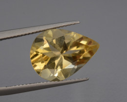 Natural Citrine  6.89  Cts, Top Quality Gemstone