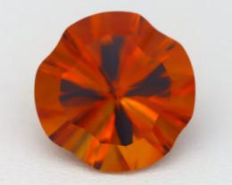 Citrine 4.89Ct VVS Laser Cut Natural Madeira Orange Citrine B1808