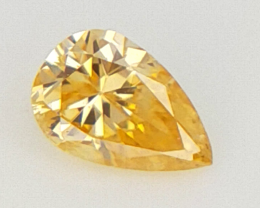 0.04 cts Fancy shape Diamond ,  Fancy Color Diamond