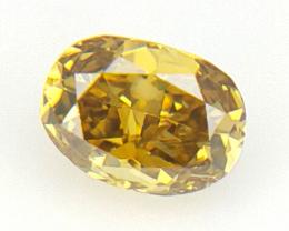 0.12 cts Fancy shape Diamond ,  Fancy Color Diamond