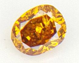 0.03 cts Fancy shape Diamond ,  Fancy Color Diamond