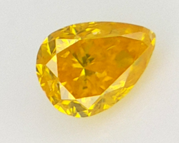 0.08 cts Fancy shape Diamond ,  Fancy Color Diamond