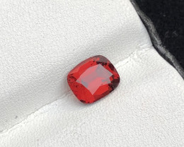 Loupe Clean 1.85 cts Fancy Cut Garnet Natural Dark Color Ring Size