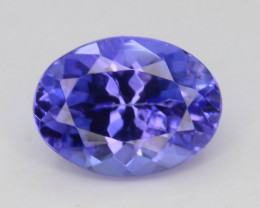 AAA Grade 1.10 ct Tanzanite eye catching Color~KJ