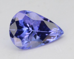 AAA Grade 0.95 ct Tanzanite eye catching Color~KJ
