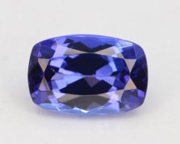 AAA Grade 0.85 ct Tanzanite eye catching Color~KJ