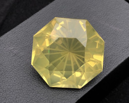 Flower Cut Big Size 48.55 ct Attractive Citrine Ring Size