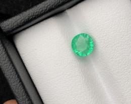 Loupe Clean 1.00 ct Panjshir Emerald Eye Catching Piece Ring Size