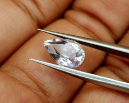 1.61Crt White Tourmaline  Natural Gemstones JI20
