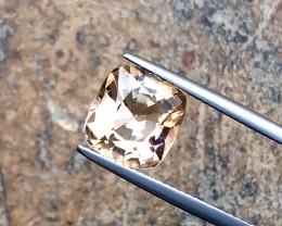 4.25 Carats Natural Topaz Cut Stone from Pakistan