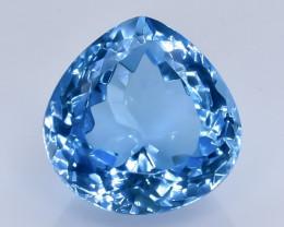 10.34 Crt Topaz Faceted Gemstone (Rk-91)