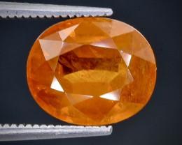 6.36 Crt Spessartite Garnet Faceted Gemstone (Rk-91)