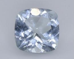 1.88 Crt Natural Aquamarine Faceted Gemstone.( AB 15)